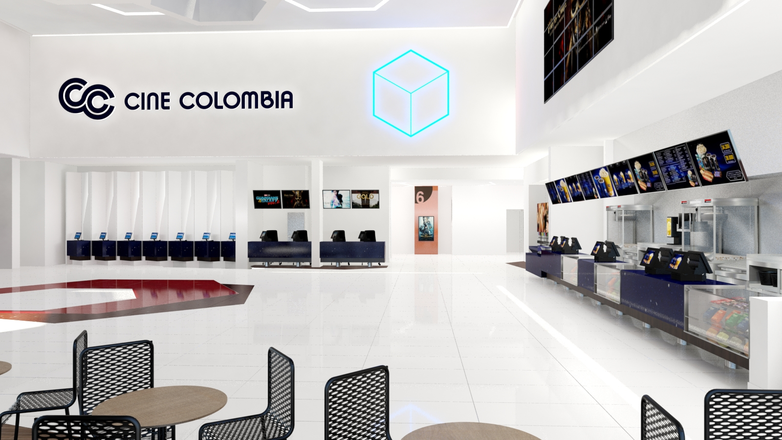 Cine Colombia Terra Plaza